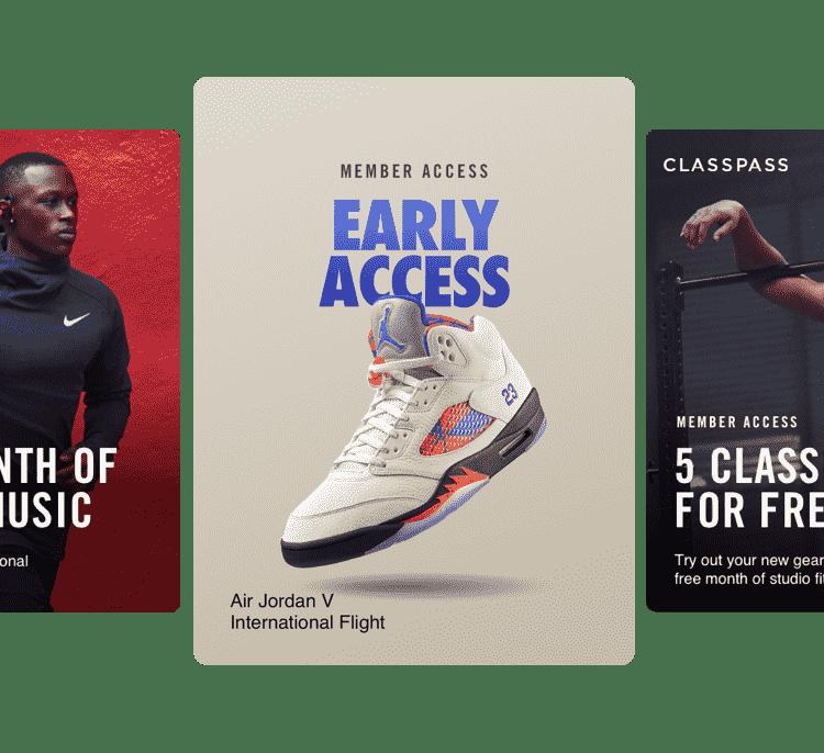 Nike.com Member Profile
